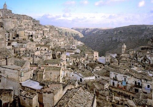 Vacances de Pâques dans les Pouilles, Matera